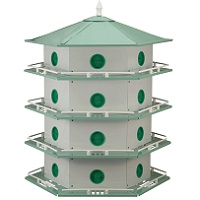 Heath 24 room Aluminum Purple Martin House