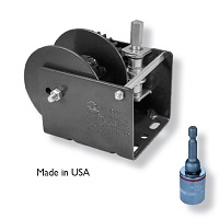 Worm Gear Brake Winch