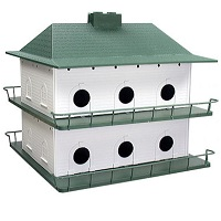 Heath PLASTIC 12 room Purple Martin House System