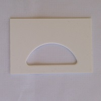 Plastic SREH Crescent Entrance Plate (6 Pack)