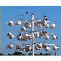 Super System 36 Purple Martin Gourd Rack