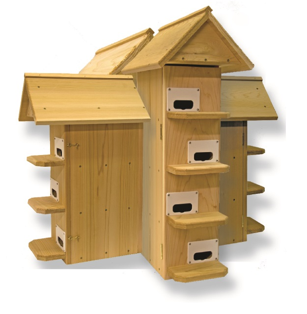 t14 purple martin bird house