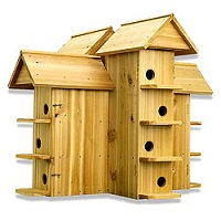 Amish Purple Martin Birdhouse Plans