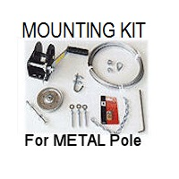 T14 Mounting Kit for Metal Pole