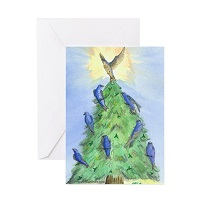 Holiday Martin Tree Card -10 Pack