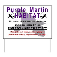 Martin Habitat Yard Sign