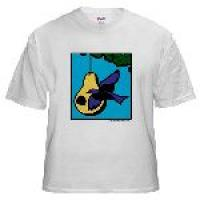 Cool Purple Martin Mens T-Shirt