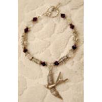 Crystal Swallow Bracelet